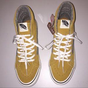c0206de8e7243f Vans Shoes - NWT Vans Vintage Suede SK8-Hi Slim Amber Gold